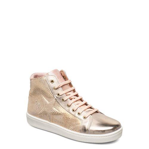 Bisgaard Gaia Hohe Sneaker Gold BISGAARD Gold 33,36,37,38,32,30,35,34,31,29,28