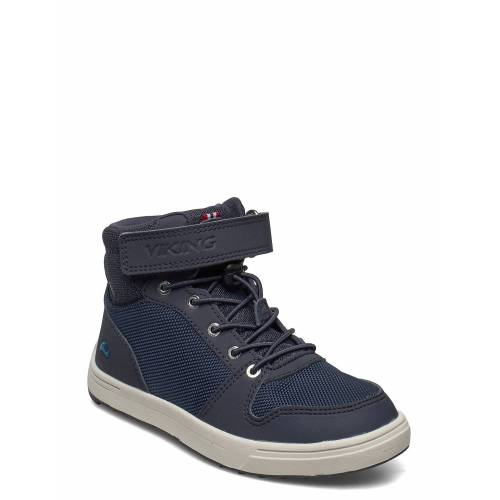 Viking Jakob Mid Gtx Jr Hohe Sneaker Blau VIKING Blau 38,29,28