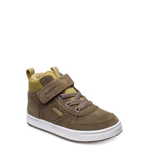 Viking Samuel Mid Wp Hohe Sneaker Grün VIKING Grün 26,25,29,22,23,21