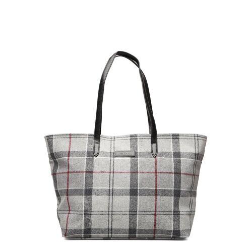 Barbour Witford Tartan Tote Shopper Tasche Grau BARBOUR Grau