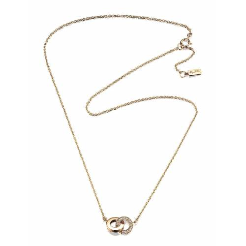 EFVA ATTLING You & Me Necklace Accessories Jewellery Necklaces Dainty Necklaces Gold EFVA ATTLING Gold ONE SIZE