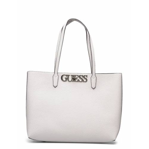 Guess Uptown Chic Barcelona Tote Shopper Tasche Creme GUESS Creme ONE SIZE