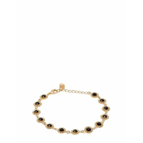 LILY AND ROSE Petite Kate Bracelet - Jet Accessories Jewellery Bracelets Chain Bracelets Gold LILY AND ROSE Gold ONE SIZE