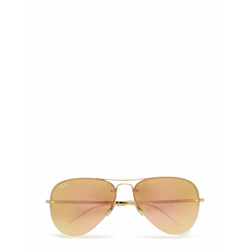 Ray-Ban Aviator Pilotensonnenbrille Sonnenbrille Gold RAY-BAN Gold 59