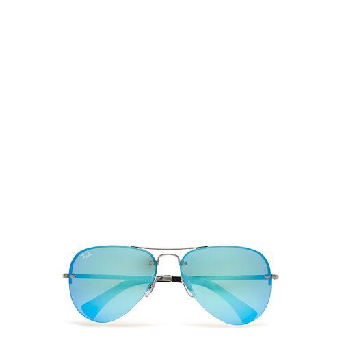 Ray-Ban Aviator Pilotensonnenbrille Sonnenbrille Grau RAY-BAN Grau 59