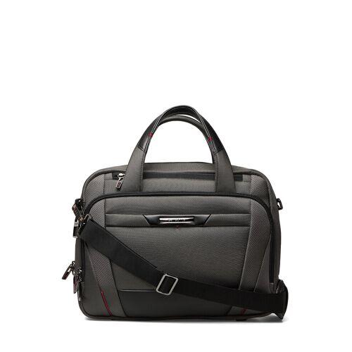 Samsonite Pro Dlx Laptop Bailhandle 14,1 Laptop-Tasche Tasche Grau SAMSONITE Grau 8.5L