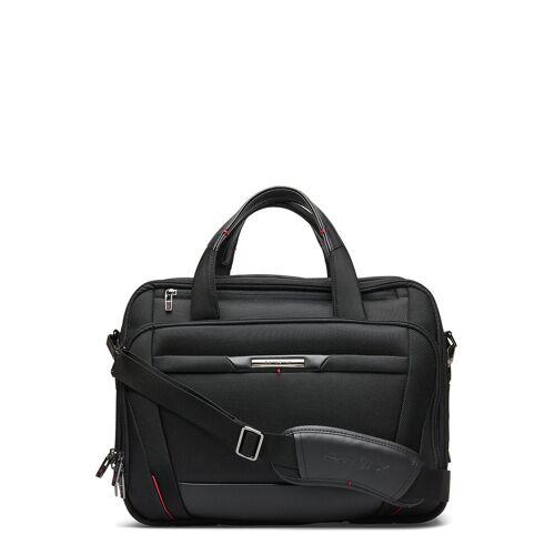Samsonite Pro Dlx Laptop Bailhandle 15,6 Exp Laptop-Tasche Tasche Schwarz SAMSONITE Schwarz 17/23L
