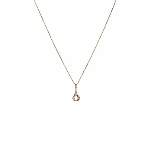 SYSTER P Tied Necklace Gold Accessories Jewellery Necklaces Dainty Necklaces Gold SYSTER P Gold ONE SIZE