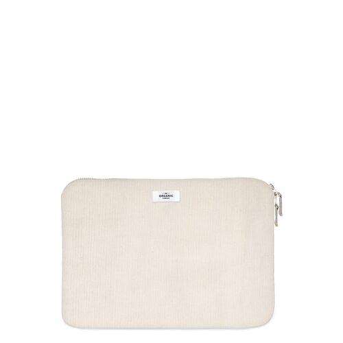 THE ORGANIC COMPANY Laptop Sleeve 15 Laptop-Tasche Tasche Creme THE ORGANIC COMPANY Creme ONE SIZE
