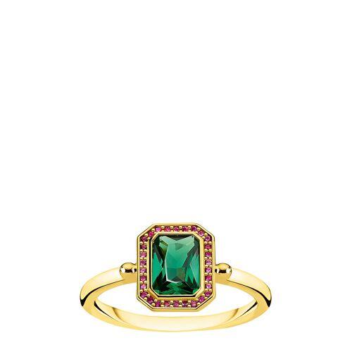 Thomas Sabo Ring Red & Green St S, Gold Ring Schmuck Grün THOMAS SABO Grün 52,54,56
