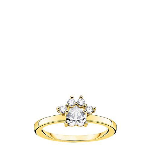 Thomas Sabo Ring Paw Cat Gold Ring Schmuck Gold THOMAS SABO Gold 52,60,54,56,50,ONE SIZE