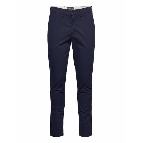 Abercrombie & Fitch Anf Mens Pants Chinos Hosen Blau ABERCROMBIE & FITCH Blau 34,31,33,32,36,29
