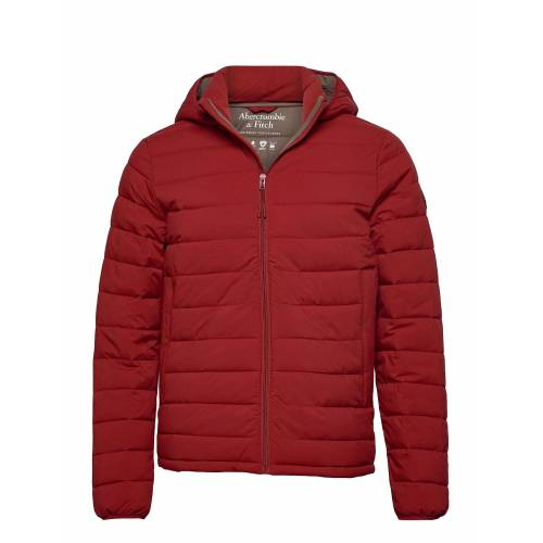 Abercrombie & Fitch Puffer Gefütterte Jacke Rot ABERCROMBIE & FITCH Rot M,S