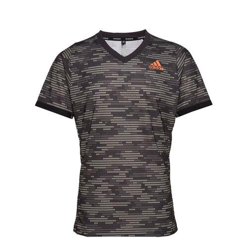 ADIDAS TENNIS Freelift Tee Primeblue T-Shirt Grau ADIDAS TENNIS Grau L,S