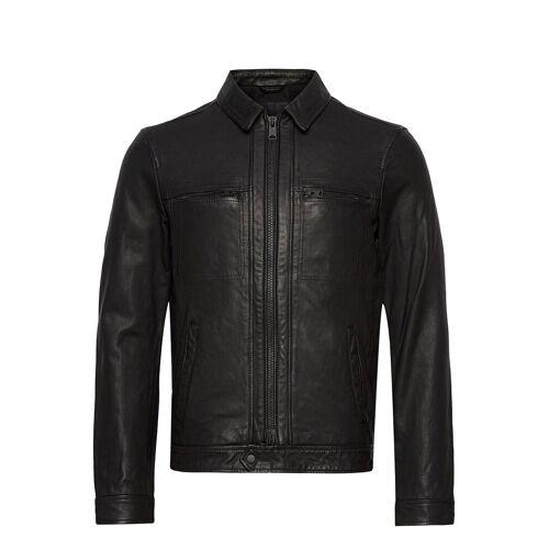 AllSaints Lark Leather Jacket Lederjacke Schwarz ALLSAINTS Schwarz M,S,L,XL