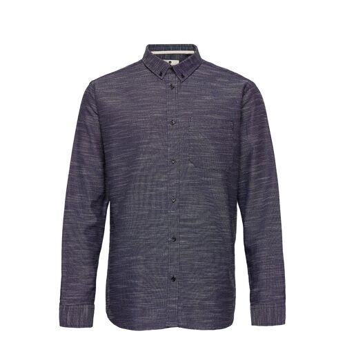 ANERKJENDT Akkonrad Ls Oxford Hemd Casual Blau ANERKJENDT Blau L,M,XL,S