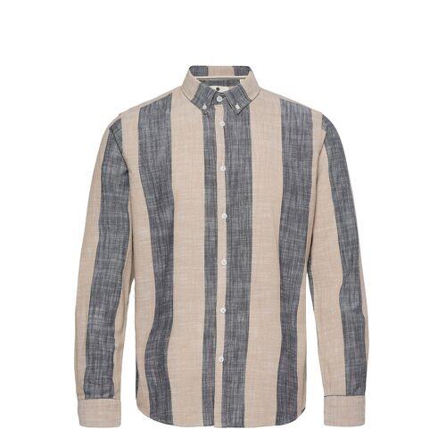 ANERKJENDT Aklouis Ls Stripe Hemd Casual Braun ANERKJENDT Braun L,M,XL,S