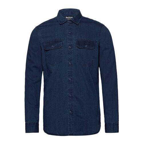 Barbour B.Int Worker Shirt Hemd Casual Blau BARBOUR Blau