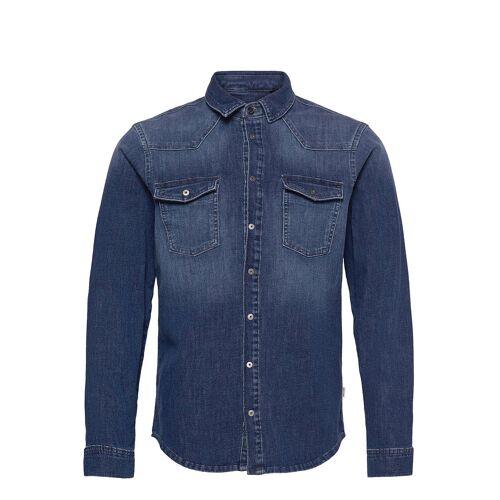 Blend Denim Multiflex Pro Shirt Hemd Casual Blau BLEND Blau L,XL,M,XXL
