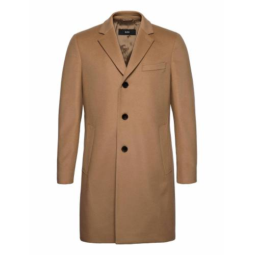 Boss Nye2 Wollmantel Mantel Beige BOSS Beige 52,48,50