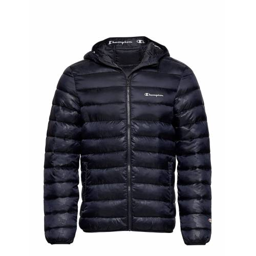 Champion Hooded Jacket Gefütterte Jacke Blau CHAMPION Blau S,M,L,XL,XXL