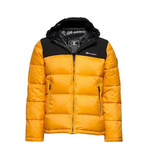 Champion Hooded Jacket Gefütterte Jacke Gelb CHAMPION Gelb M,L,S,XL,XXL