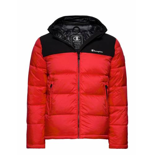 Champion Hooded Jacket Gefütterte Jacke Rot CHAMPION Rot M,S,L,XXL