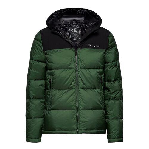 Champion Hooded Jacket Gefütterte Jacke Grün CHAMPION Grün S,L,XL