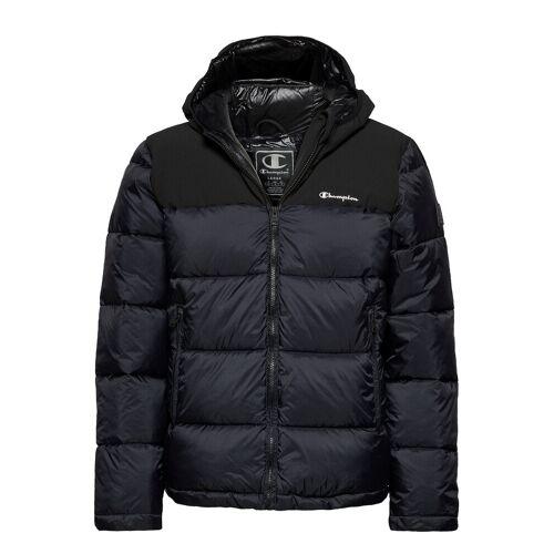 Champion Hooded Jacket Gefütterte Jacke Blau CHAMPION Blau M,L,XL