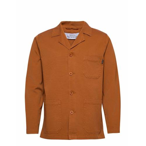 Dedicated Jacket Leksand Overshirts Orange DEDICATED Orange M,L,S,XL