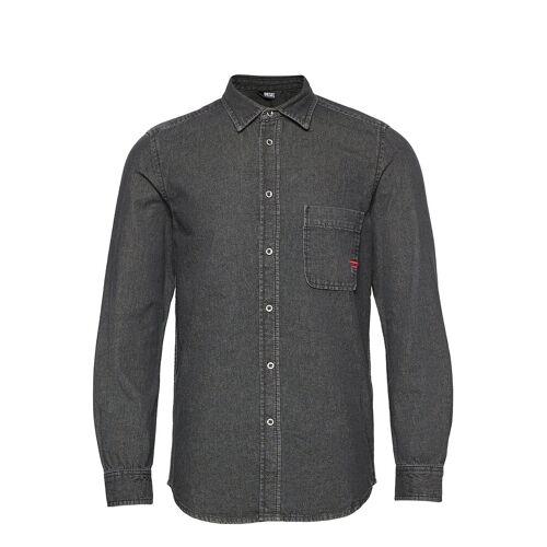 DIESEL MEN D-Billy Shirt Hemd Casual Grau DIESEL MEN Grau M,XXL,S