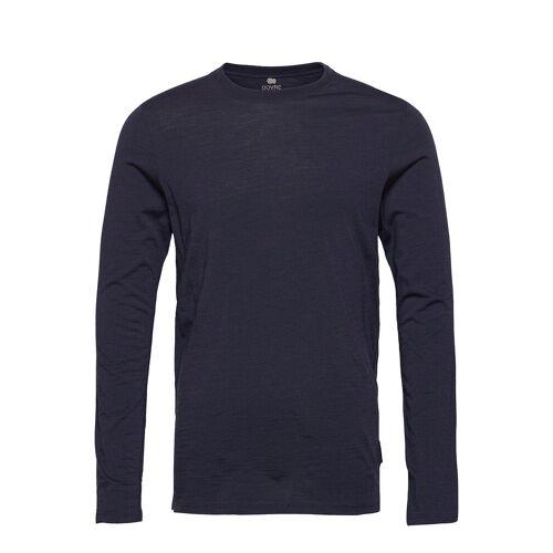 DOVRE Model 14 100% Wool T-Langärmliges Hemd Blau DOVRE Blau XL,L,M,S,XXL