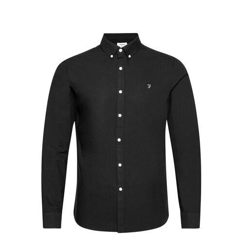 Farah Brewer Long Sleeved Slim Fit Shirt Hemd Casual Schwarz FARAH Schwarz S,M,L,XS,XL