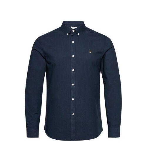 Farah Brewer Long Sleeved Slim Fit Shirt Hemd Casual Blau FARAH Blau L,M,S,XL,XS