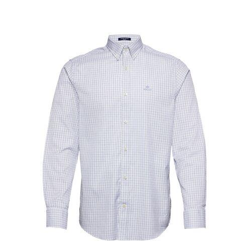 Gant D1. Pinpoint Oxf Tattersall Reg Bd Hemd Casual Blau GANT Blau XL,L,M,XXL