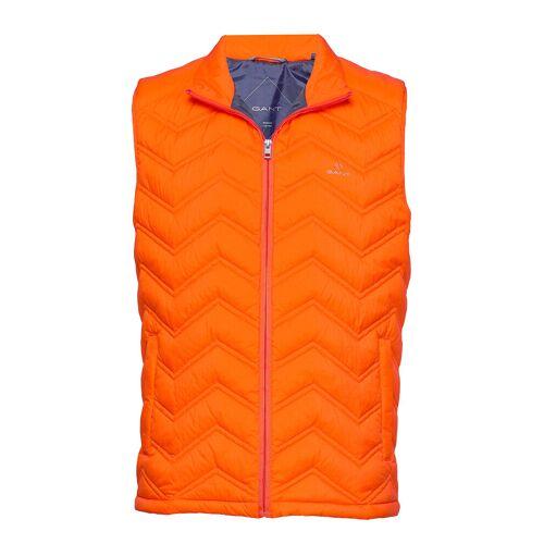 Gant D1. The Light Down Gilet Weste Orange GANT Orange XL