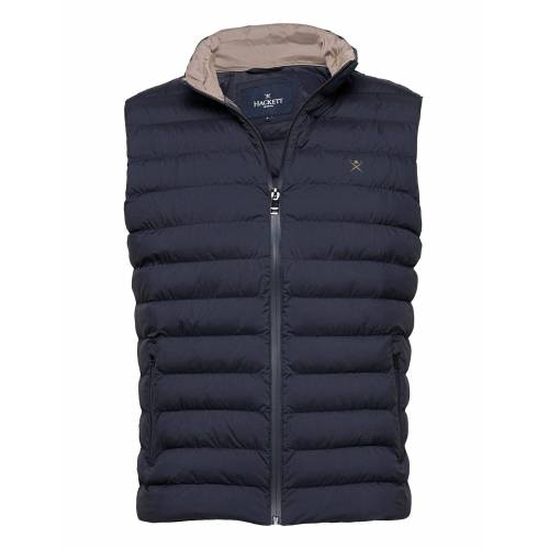 Hackett London Lw Gilet Weste Blau HACKETT LONDON Blau L,XXL,S
