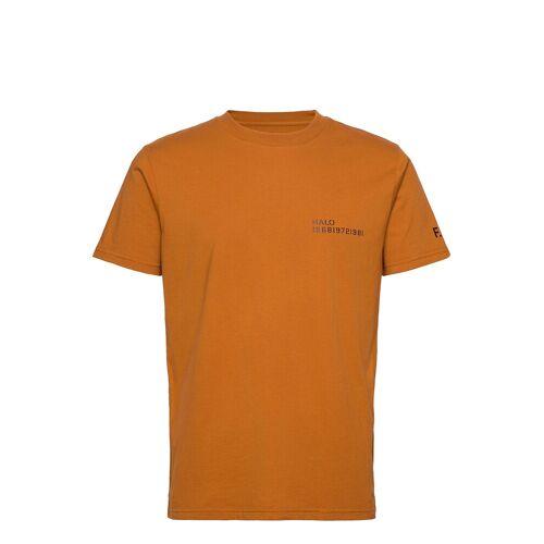 Halo Cotton Tee T-Shirt Braun HALO Braun M,XL,L,S,XXL,XS