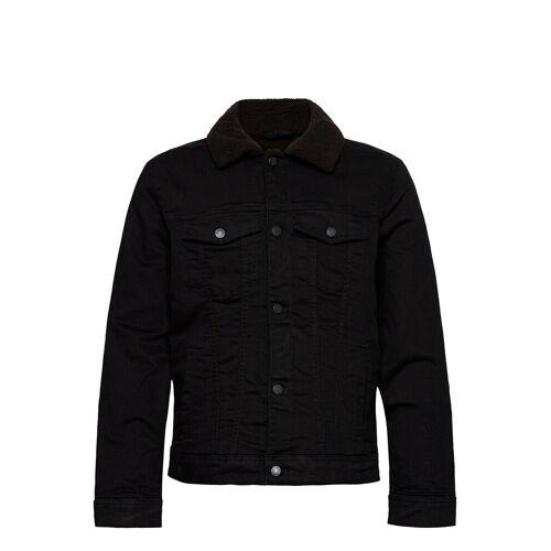 Hollister Hco. Guys Outerwear Jeansjacke Denimjacke Schwarz HOLLISTER Schwarz L,M,XXL,S,XL