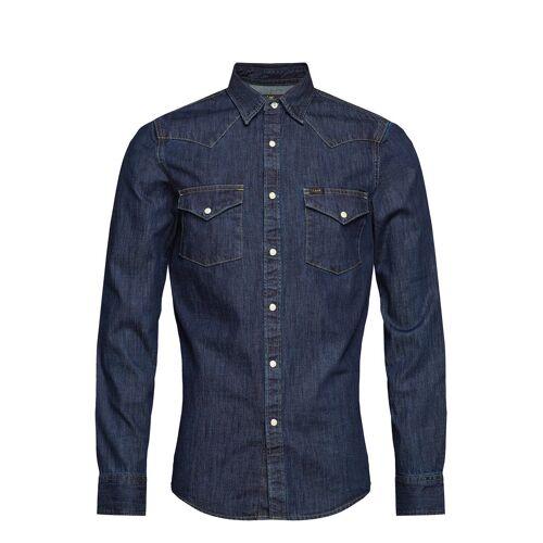 Lee Jeans Lee Western Shirt Hemd Casual Blau LEE JEANS Blau XL,S