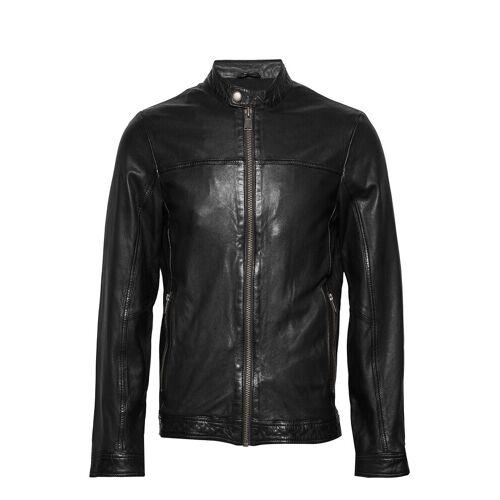 lindbergh Leather Jacket Lederjacke Schwarz LINDBERGH Schwarz L