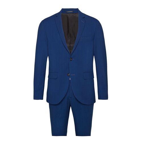 lindbergh Plain Mens Suit Anzug Blau LINDBERGH Blau 50,52,54,44,48,56,46,58