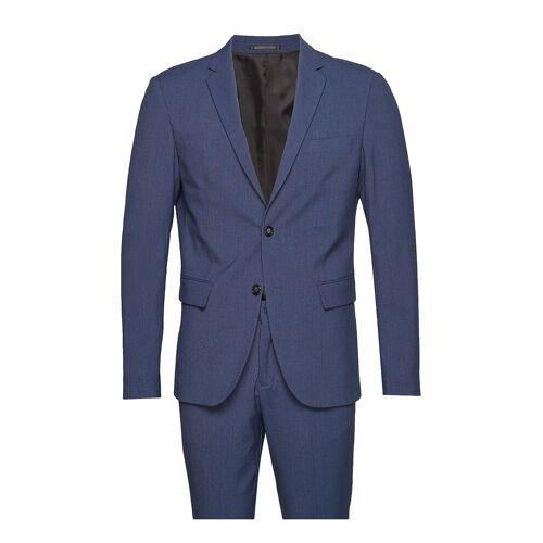 lindbergh Plain Mens Suit Anzug Blau LINDBERGH Blau 50,52,48,54,56,58,46,44