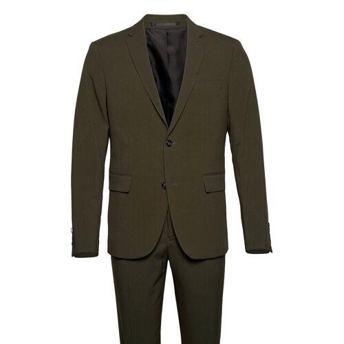 lindbergh Plain Mens Suit Anzug Grün LINDBERGH Grün 52,54,46,50,56,48,58,44