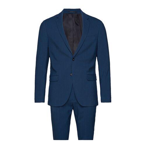 lindbergh Plain Mens Suit Anzug Blau LINDBERGH Blau 50,48,52,46,54,56,44
