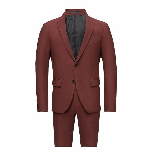 lindbergh Plain Mens Suit Anzug Rot LINDBERGH Rot