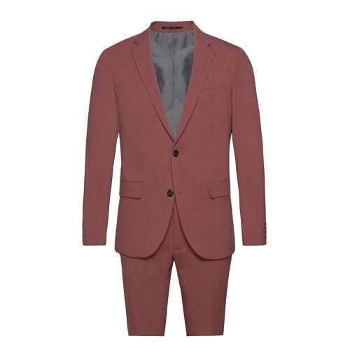lindbergh Plain Mens Suit Anzug Pink LINDBERGH Pink 56,54,50,48,52,46,58,44