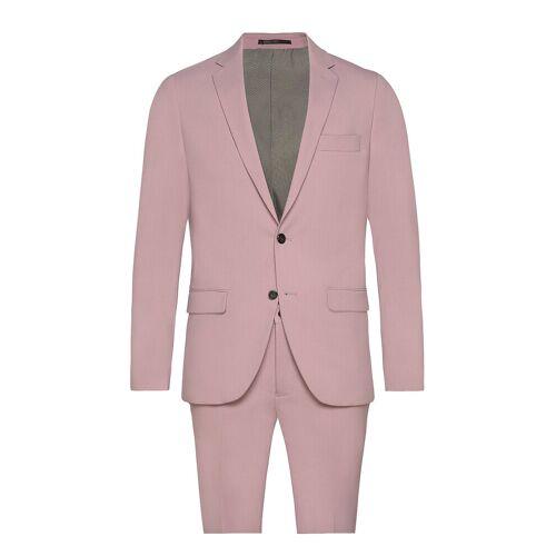 lindbergh Plain Mens Suit Anzug Pink LINDBERGH Pink 50,56,54,46,44,52,48,58