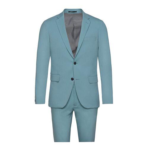 lindbergh Plain Mens Suit Anzug Blau LINDBERGH Blau 48,46,56,52,50,54,58,44