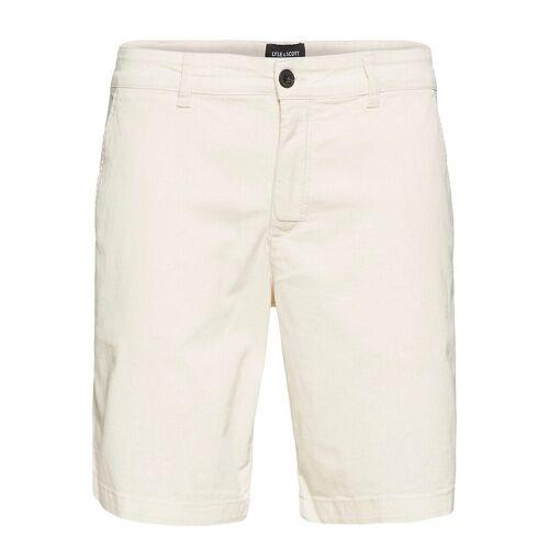 Lyle & Scott Chino Short Shorts Chinos Shorts Creme LYLE & SCOTT Creme 32,34,36,30